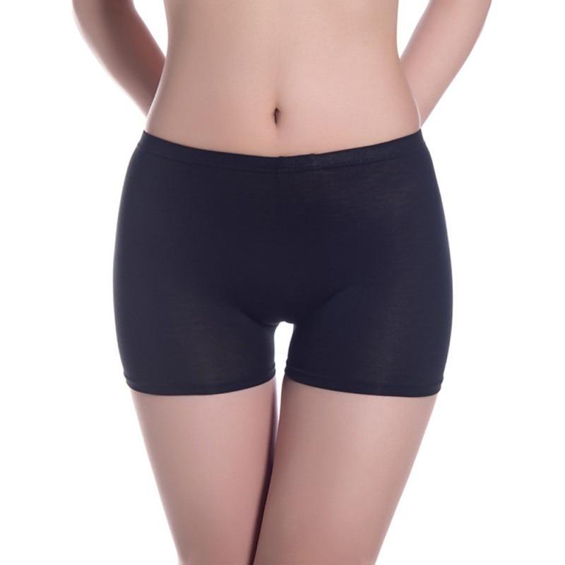 Women Shorts Panties Seamless Women Modal Panties Elastic Female Underpants Comfy Lady Intimate Solid Color