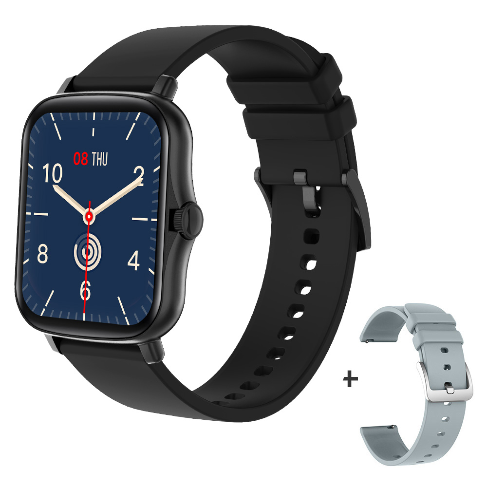 Black with a strap