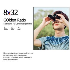 Image 2 - Xiaomi Mijia Beebest Binoculars 8X32 Hunting Telescope Wide Angle Camping HD8 Times View Outdoor Adventure Tools IP67 Waterproof