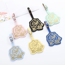Tag-Suitcase Travel-Accessories Label-Bag Luggage Id-Tags Name Portable Pendant PU Zoukane