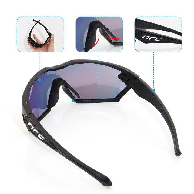 Marca 2019 nrc p-ride photochromic ciclismo óculos homem mountain bike bicicleta esporte ciclismo óculos de sol mtb ciclismo eyewear mulher 5