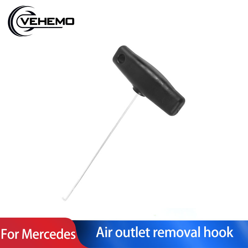 18cm Car Gauges Air Outlet Removal Hook Flexible Dashboard Air Outlet Extraction Pulling Hook For Mercedes-Benz Audi