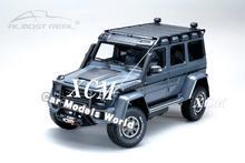 거의 진짜 550 모험 g 500 4x4 1:18 (회색) + 작은 선물을위한 다이 캐스트 자동차 모델!!!!!