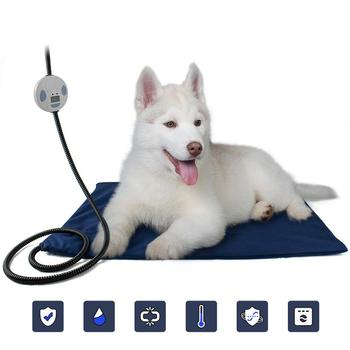 TPFOCUS Waterproof Scratch Resistant Electric Constant Heating Pad Mat for Pet Cat Dog