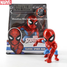 цена Hasbro Avengers Spider-Man Hand-made Gift for Shaking Head Car Toy Doll Spider-Man Model онлайн в 2017 году