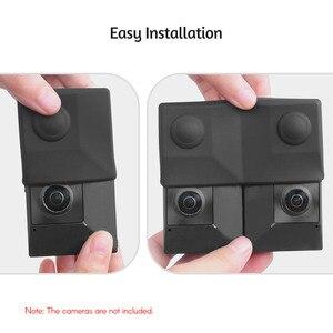 Image 3 - Silicone Mềm Mại Bảo Vệ Giá Đỡ Bảo Vệ Vỏ Túi Du Lịch Cho Insta360 EVO VR Gấp Phụ Kiện Chống Sốc