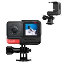 Insta360 um r liberação rápida quadro vlog gaiola panorâmica 4 k leica câmera proteção caso para insta360 um r câmeras acessórios