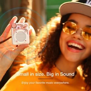 Image 2 - Divoom אספרסו נייד Bluetooth אלחוטית רמקול עם FM רדיו ותמיכה 32G מיקרו TF כרטיס עם מתנה חבילה עבור ילדה