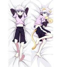 Taie d'oreiller dessin animé japonais Hunter X Hunter Killua, Dakimakura, livraison directe