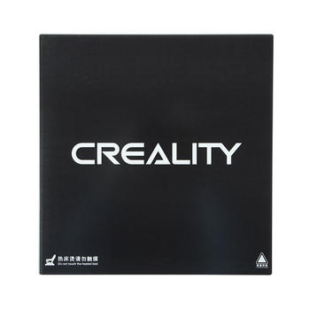 Creality 3D Ultrabase 410*410*4mm Carbon Silicon Glass Plate Platform Heated Bed Build Surface for CR-10S4 MK2 MK3 hotbed parts
