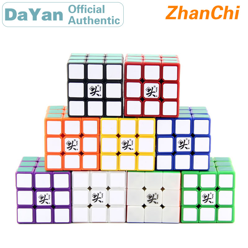 DaYan ZhanChi 3x3x3 Magic Cube 3x3 42mm/50mm/55mm/57mm Professional Speed Twist Puzzle Antistress Educational Toys For Children
