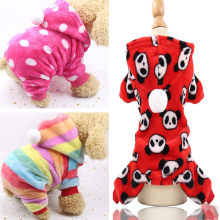 New Cute Winter Dog Clothes Jumpsuit Warm Dog Coat Costume Pet Clothing Puppy Outfits Overall For Small Dogs Chihuahua Yorkshire(China)
