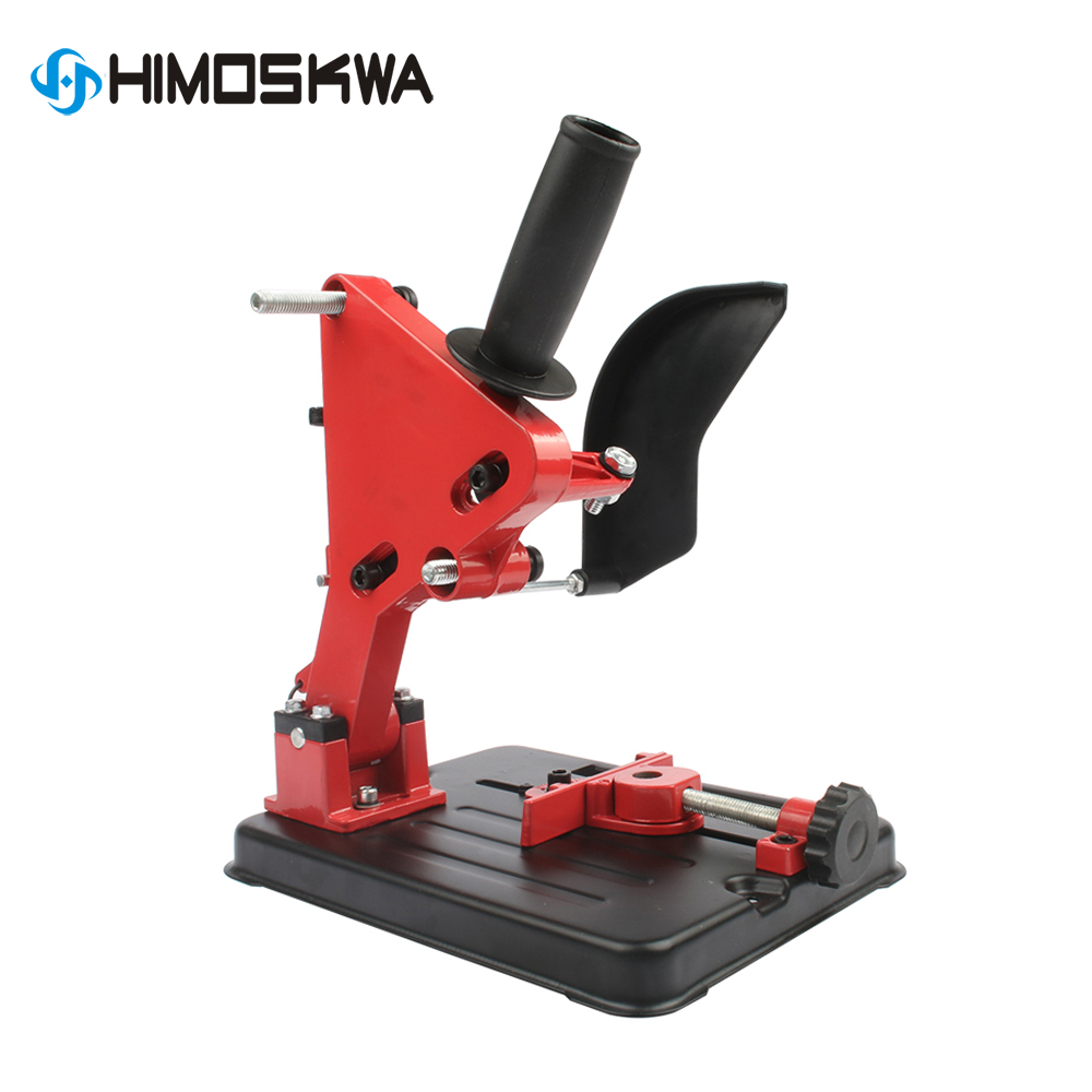 Angle Grinder Stand Angle Grinder Bracket Holder Support For 100-125 Cutter Angle Grinder Power Tool Accessory