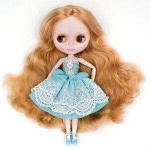 Image 2 - Neo NBL muñeca Blyth cara brillante personalizada, 1/6 OB24 BJD Ball muñeca articulada muñeca Blyth personalizado s para niña, regalo para colección