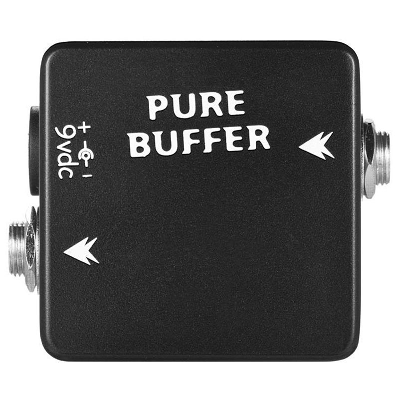 MOSKY PURE BUFFER Guitar Pedal Buffer Guitar Effect Pedal Full Metal Shell Guitar Parts & Accessories