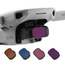 for DJI Mavic Mini Filters ND4 ND8 ND16 ND32 Set Camera Neutral Density Lens Filter for DJI Mavic Mini 2 Drone Camera Accessory