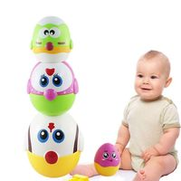Educational Toys Egg Nesting Dolls for Toddler, Preschool Learning Stacking Toys for Baby Girls and Boys R7RB