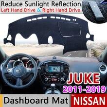 Противоскользящий коврик для nissan juke f15 2011 ~ 2019 накладка
