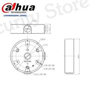 Image 5 - Dahua caja de conexiones impermeable PFA137 para cámara IP DH, y IPC HDBW4431R ZS IPC HDBW4431R S, CCTV, Mini cámara domo, DH PFA137