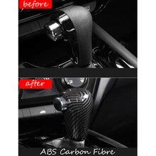 Для honda hrv hr v vezel 2014 2019 abs matte/carbon fiber внутренняя