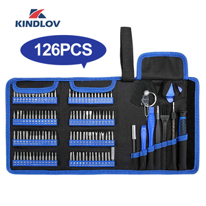KINDLOV Screwdriver Set Precision Screwdriver Tool Kit Magnetic Phillips Torx Bits 126 In 1 Repair Hand Tools For Phone Laptop(China)