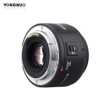 Объектив Yongnuo 35 мм YN35mm F2.0 широкоугольный фиксированный/основной Автофокус Объектив для Canon 600d 60d 5DII 5D 500D 400D 650D 600D 450D