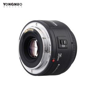 Image 1 - Yongnuo 35mm עדשת YN35mm F2.0 עדשה רחב זווית קבוע/ראש פוקוס אוטומטי עדשה עבור Canon 600d 60d 5DII 5D 500D 400D 650D 600D 450D