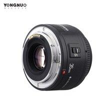 Yongnuo lente de enfoque automático de 35mm YN35mm F2.0 para Canon 600d 60d 5DII 5D 500D 400D 650D 600D 450D