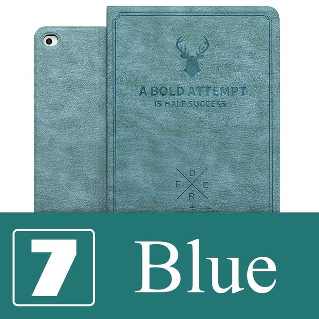 """For iPad Air1/Air2 Case 9.7/10.2 / Pro 10.5/Pro 11"""" Magnetic Stand Leather Case for iPad 6th 7th generation Case iPad2/3 /4 Mini"""