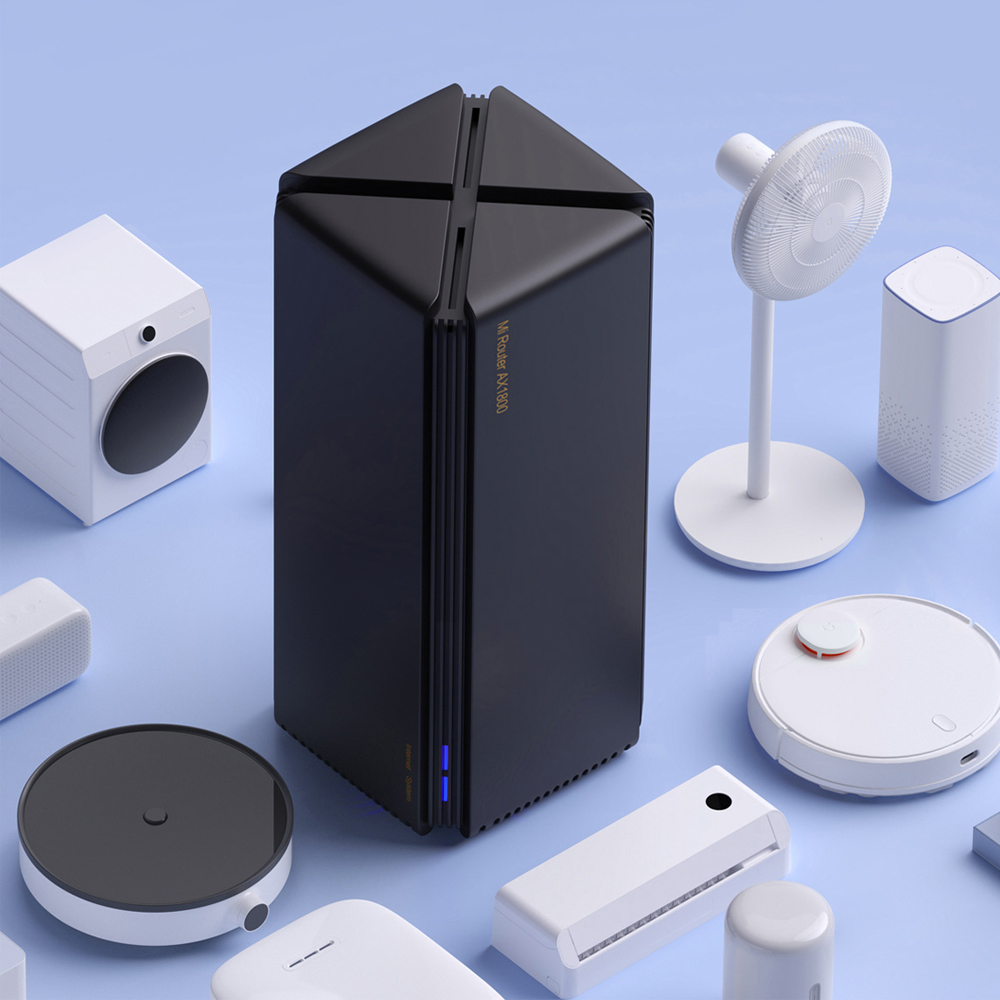 lowest price 2020 Xiaomi Router AX1800 Wifi 6 Gigabit 2 4G 5GHz Qualcomm 5 Core Dual-Band Router OFDMA High Gain 2 Antennas Wider Mi Router