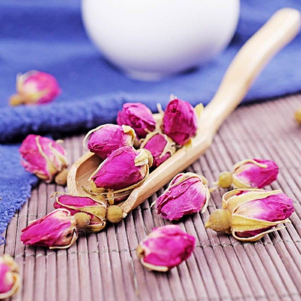 Rose Tea Dried Roses Pingyin Roses Edible Rose Tea Fresh Natural Buds Bulk 1