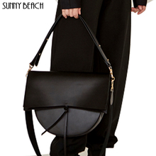 SUNNY BEACH Women Bag  Vintage Shoulder Bag Female Handbag Crossbody Girl Bolsas pu Leather Bag Totes Luxury Bag