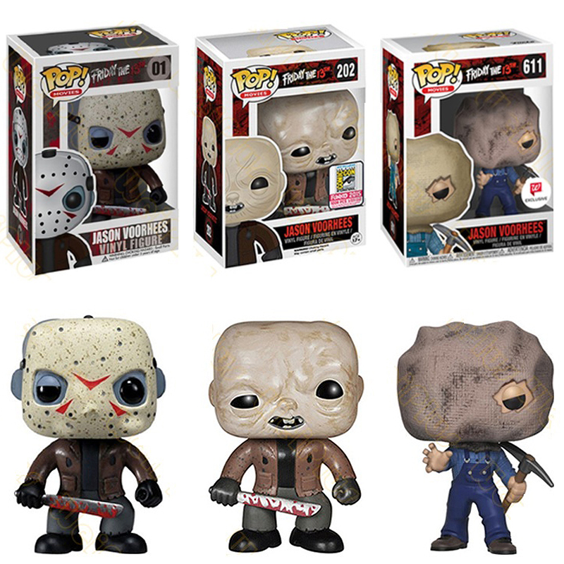 Funko POP Friday The 13TH Jason Voorhees Action Vinyl Figure Collectible Model Toys For Kids Christmas Gift Happy Birthday
