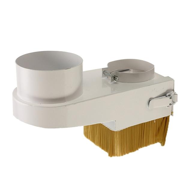1PC CNC ฝุ่นสะสมแปรง 65 125 มม.เส้นผ่าศูนย์กลาง Vaccumn ทำความสะอาดง่ายล้างสำหรับ CNC แกนมอเตอร์เครื่องมิลลิ่ง
