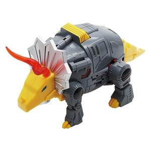 Image 3 - MFT Transformation dinosaure G1 Animation couleur laitier Snarl Grimlock MF 22 figurine jouet