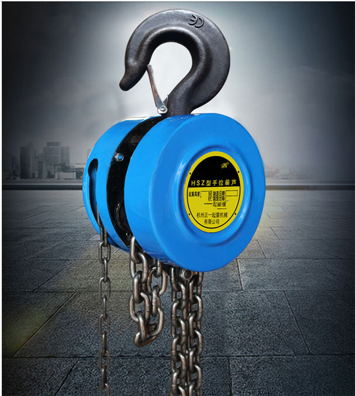 Pulley Hsz Cable Hand Control Pulley 500kg Pulley Chain Block Chain Hoist Polipasto  Crane 2.5m Manual Block Lift Pulley Liftin