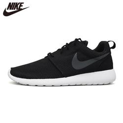 Oryginalne męskie buty do biegania NIKE ROSHE czarne sportowe Ourdoors 511881 011 w Buty do biegania od Sport i rozrywka na