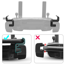 Fácil de montar clipe braçadeira titular do telefone conector para dji mavic mini mavic 2 pro zoom faísca ar platina controlador drone acessório