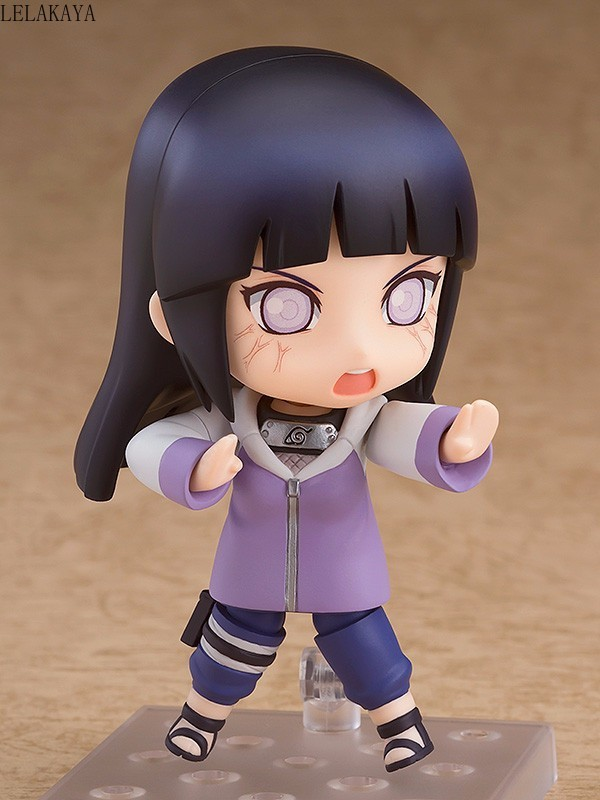 Image 4 - 10cm Mini Cute Anime Character Naruto Shippuden 879 Hinata Hyuga Changeable Ver. PVC Action Figure Collection Model Cartoon ToysAction & Toy Figures   -