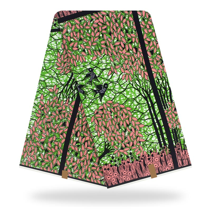 2020 High Quality African Wax Print Fabric 100% Cotton Ankara Sewing Material For Dress Ankara Wax Print Fabric 6yards