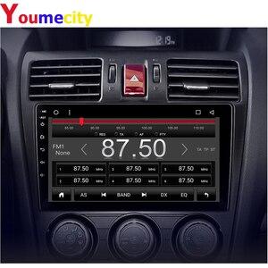 Image 5 - 안드로이드 9.0 차량용 멀티미디어 플레이어 스바루 임 스터 Impreza WRX 2013 2014 2015 라디오 Rds Gps DVD 비디오 IPS BT USB 8 코어