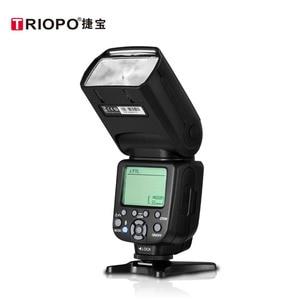 Image 3 - Triopo disparador de Flash inalámbrico TR 950 II para cámara Nikon Canon 650D 550D 450D 1100D 60D 7D 5D, Flash Light Speedlite + G1 2,4G