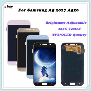 Image 4 - For Samsung Galaxy A520 A520F SM A520F A5 2017 2015 2016 A510 A500 LCD Display Touch Screen Digitizer Glass Assembly Replacement