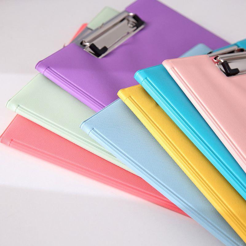 A4 Waterproof Clipboard Writing Pad File Folder Document Holder School Supply