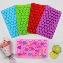 Формы для конфет силиконовые маленькие Мини сердца искусство