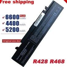 Free Shipping For SAMSUNG NP R519 R530 R522 R519 AA PB9NC6B R520 R470 R428 Q320 R478 BATTERY (CE,RoHS)