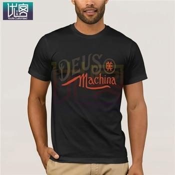 Deus - Topwear-T-shirts Newest 2019 Fashion New Summer Mens Casual Print T-shirt Tops Tees Cotton O Neck T-Shirt