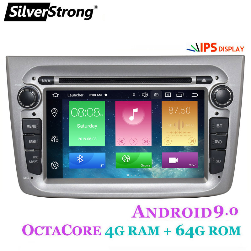 Silverstrong Car DVD Car-Radio MITO 1din Android9.0 Alfa Romeo 64GB Canbus 2 for GPS