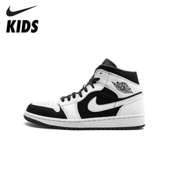 Nike Air Jordan 1 Original New Arrival Kids Basketball Shoes Lightweight Comfortable Sports Sneakers #554724-113