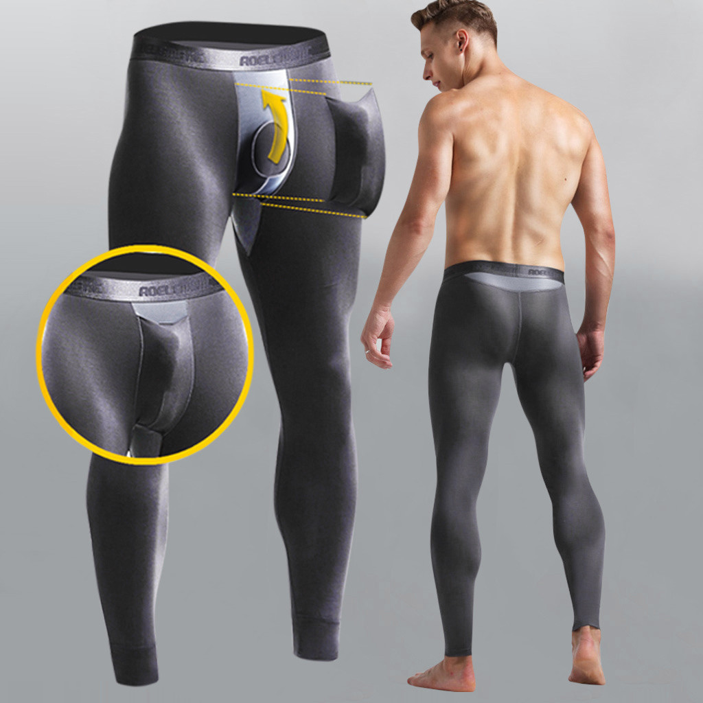 Men's Sexy Stretch Breathe Thermal Bullet Separation Slim Long Pants Plus Size Sweatpants Trousers Pantalones Hombre Streetwear